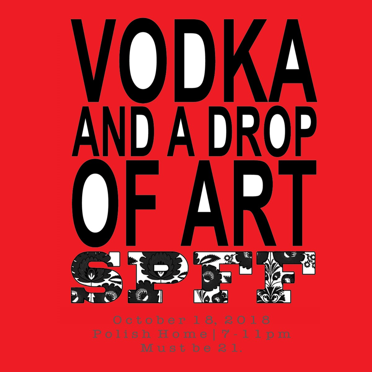 4th Annual Vodka Tasting to Kick Off the 26th Annual Seattle Polish Film Festival