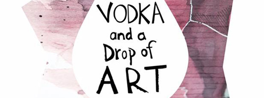 Vodka and a drop of art
