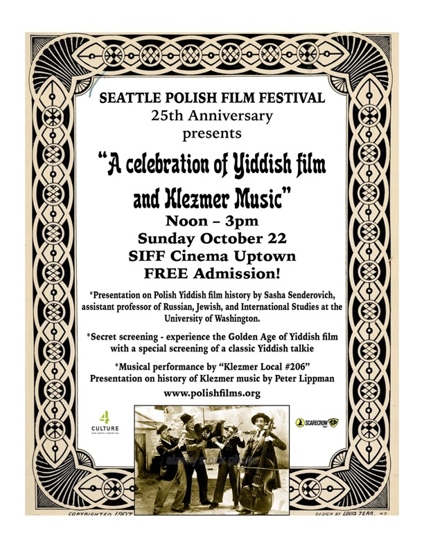 A Celebration of Yiddish Film and Klezmer Music